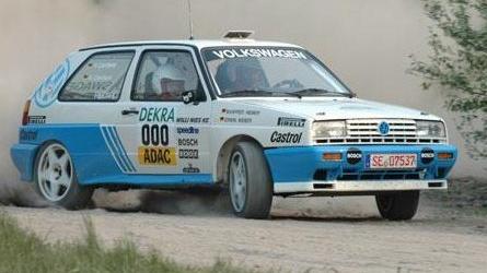 A VW utolsó gyári rali-autója a Rally Golf G60 volt