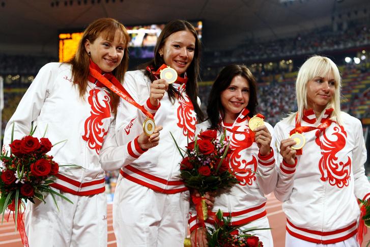 A pekingi aranyérmes orosz női váltó