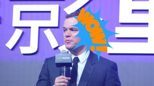 És akkor most beszéljünk Matt Damon hajáról!