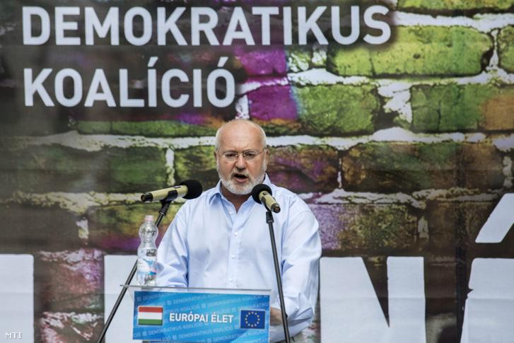 Eörsi Mátyás a DK országos tanácsának tagja