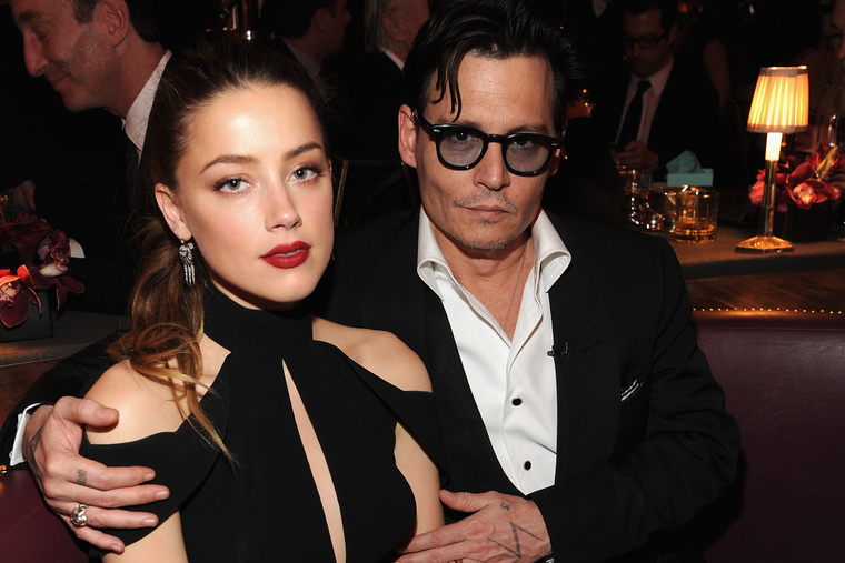 Johnny Depp és Amber Heard még 2014-ben