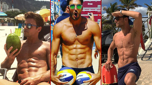 Itt az olimpiai 10 legjobb pasijának az Instagramja