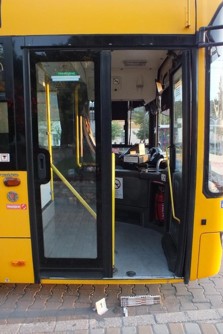 Ezen a buszon történt a támadás