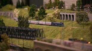 A Miss Balaton után most vasútmodelleken csodálkozhat