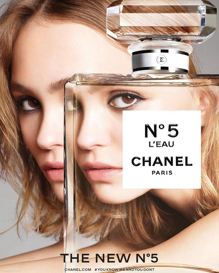 Íme, Lily-Rose Depp reklámfotója, a Chanelnek