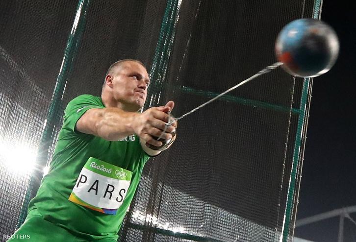 Pars Krisztián nem tudta magát felülmúlni az utolsó sorozatban, hálót is ért kalapácsa, már le sem mérette. Hetedik az olimpián.