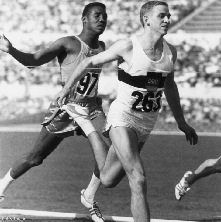 Dennis Johnson fut 100 méteren Armin Hary mögött az 1960-as olimpián, Rómában