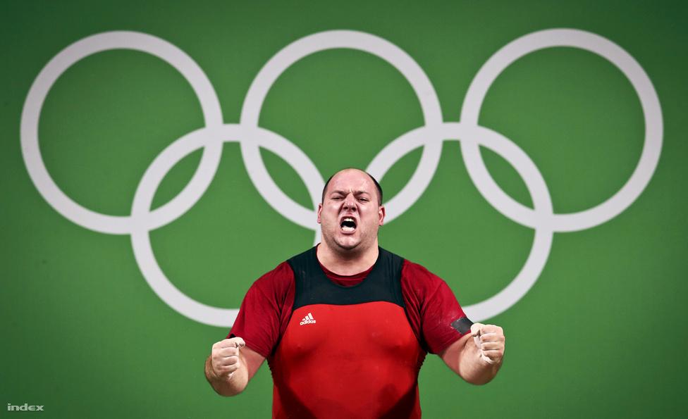Az olimpiai játékok egyetlen magyar súlyemelője, a +105 kg-ban induló Nagy Péter a B-döntő második helyén végzett. Összetettben elért 420 kg-os eredménye a 10. helyre volt elég.