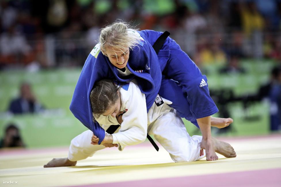 Nem volt szerencséje Csernoviczki Évának, a dzsúdósok 48 kg-os számában. Megsérült a későbbi olimpiai bajnok, az argentin Paula Pareto elleni meccsen, így a vigaszágon is vereséget szenvedett, végül a 7. helyen végzett.