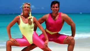 Sokkal szebb lenne a világ a régi aerobik-dresszekben