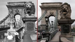 Budapesti hidak a második világháború előtt és most