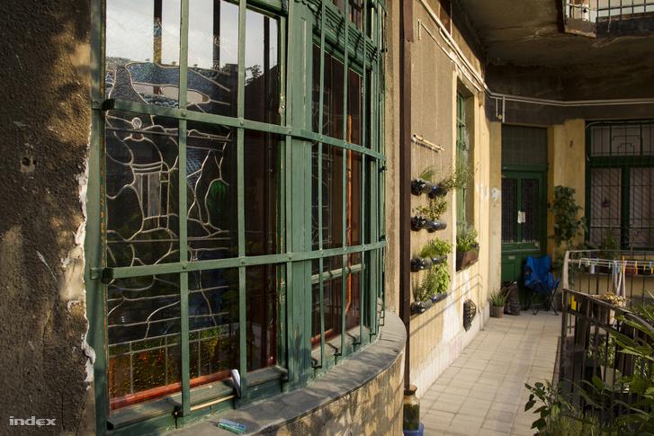 A mosoda egykori tulajdonosának lakása.
