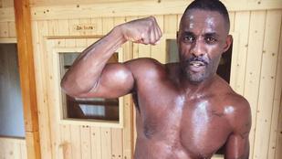 Idris Elba is beállt a bokszoló celebek sorába