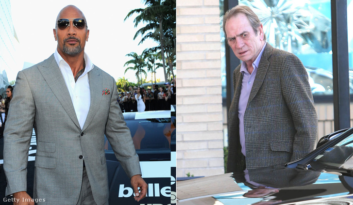 Dwayne Johnson, Tommy Lee Jones