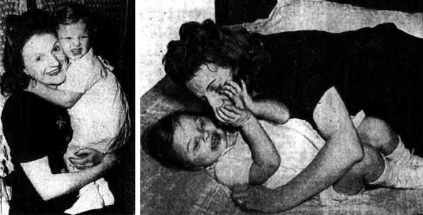Baby Jean az édesanyjával