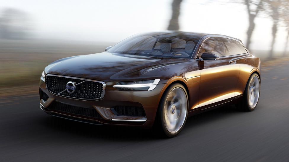 Volvo Concept Estate, 2014: A kombi, a kupé és a kompakt autók fura stíluskeveréke a Volvo egyik legszebb tanulmányautója, a Concept Estate. A P1800 ES-t idéző, egyszerű formát a leheletfinom részletmegoldásai teszik igazán harmonikussá. Különösen tetszenek a kerékívek fölött futó élek, a lejtős tetővonal és a finoman hátrafele szűkülő kabin. Bravúros, hogy a csodás összképet milyen kevés formai eszközzel valósította meg a Volvo vezető tervezője, Thomas Ingenlath.