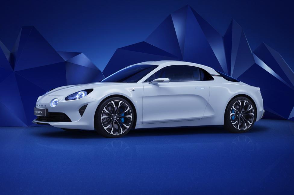 Renault Alpine Vision, 2016: Nem merész, hanem egyszerű az Alpine A110 huszonegyedik századi változata. Hibátlanul hozza a hatvanas években készült kis kupé minden formai elemét úgy, hogy mégis friss. Az ablakok nagyon szépen tagolják a szerintem különösen gyönyörű, szinte félgömb-szerű tetőt. Egyszerű formái ellenére maradandó látvány a kis Renault, amiért a cég vezető tervezője, Antony Villain felelős.