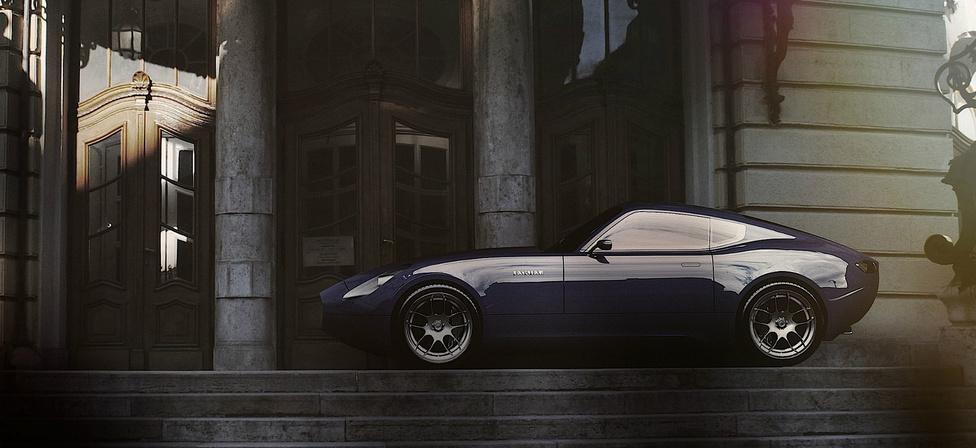 +1 Jaguar E-Type Varga László, 2011: Nem valós koncepcióautó, csak terv, annak viszont tökéletes. Sokan próbálkoztak már a Jaguar E-Type újratervezésével, de véleményem szerint a magyar tervezőnek, Varga Lászlónak sikerült a legjobban. A kaszni olyan puhán íves formájú, mint egy víz által tökéletesen simára munkált kavics. Természetesen az eredeti E Type minden lényeges formai sajátosságát magán hordozza az elegáns magyar koncepció.