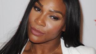 Ilyen, amikor Serena Williams melltartót reklámoz