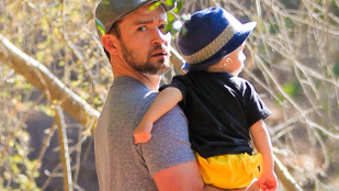 Justin Timberlake gyereke szépen cseperedik
