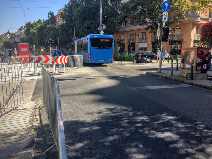 A Bertalan Lajos utcai Tarlós-szoros