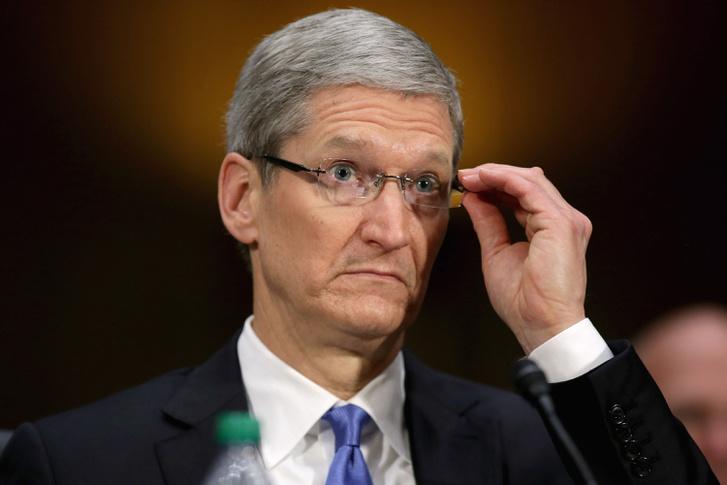 Tim Cook az Apple vezérigazgatója