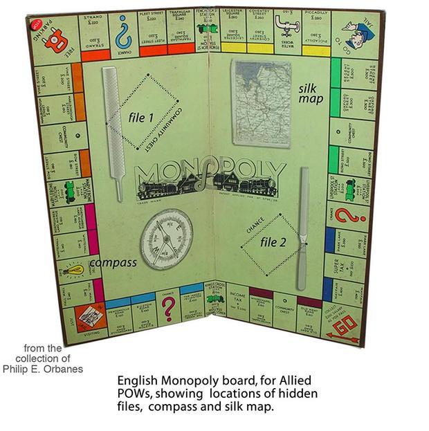 ww11 waddingtons monopoly - credit phil orbanes
