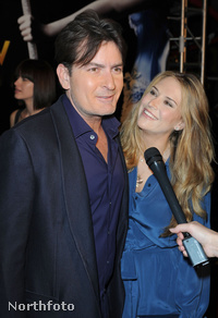 Charlie Sheen és felesége Las Vegasban
