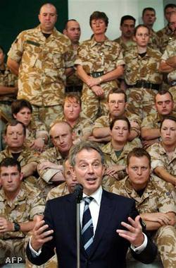 Blair december közepén is felháborodást váltott ki