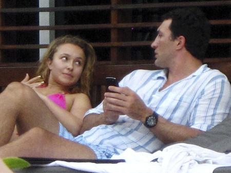 Klicsko és Hayden Miamiban
