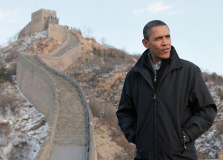 Az eredeti képet Obama kínai látogatásán késítette az AP fotósa Charles Dharapak