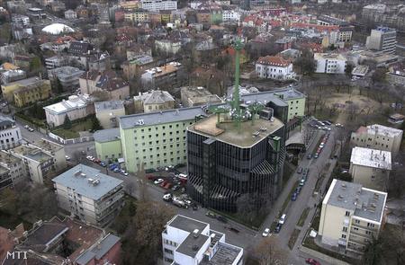 A Magyar Távirati Iroda Naphegy téri épülete