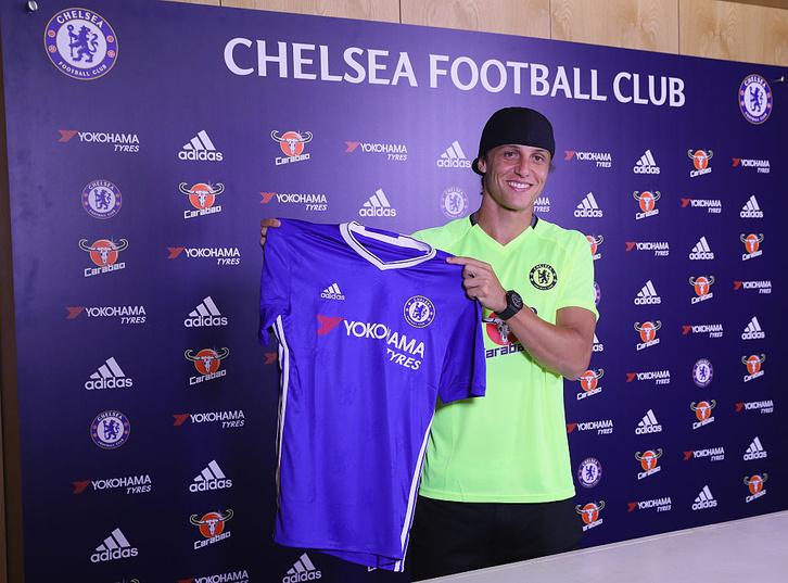 David Luiz újra a Chelsea-nél