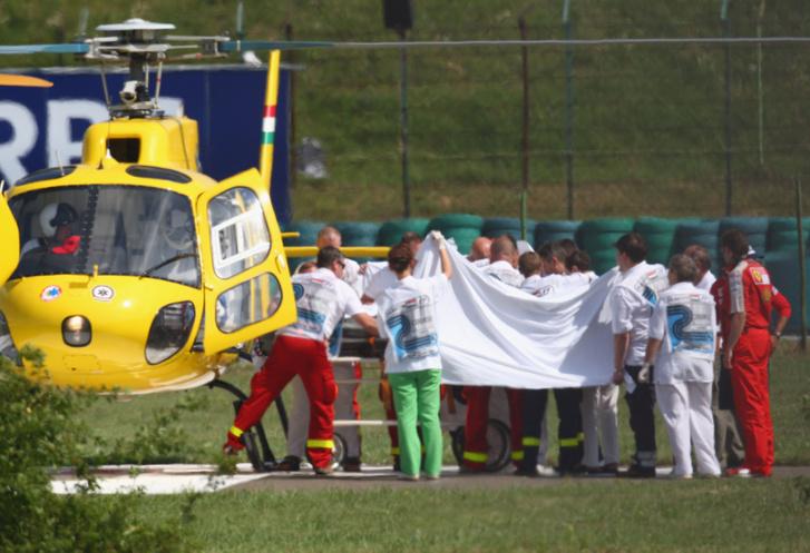 Felipe Massa balesete a Hungaroringen, 2009-ben