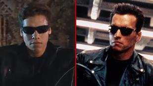 Arnold Schwarzenegger fia terminátorosan is tiszta apja