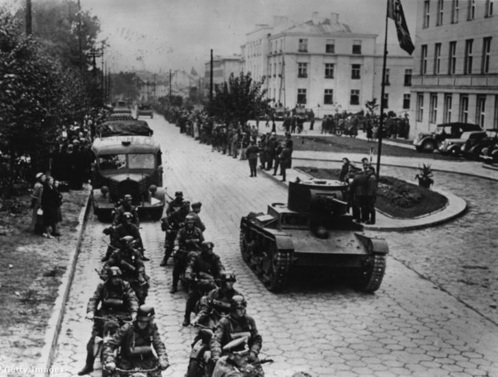 A Vörös Hadsereg és német alakulatok Breszt-Litovszkban 1939-ben