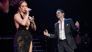 Jennifer Lopez öt év után koncertezett újra a volt férjével