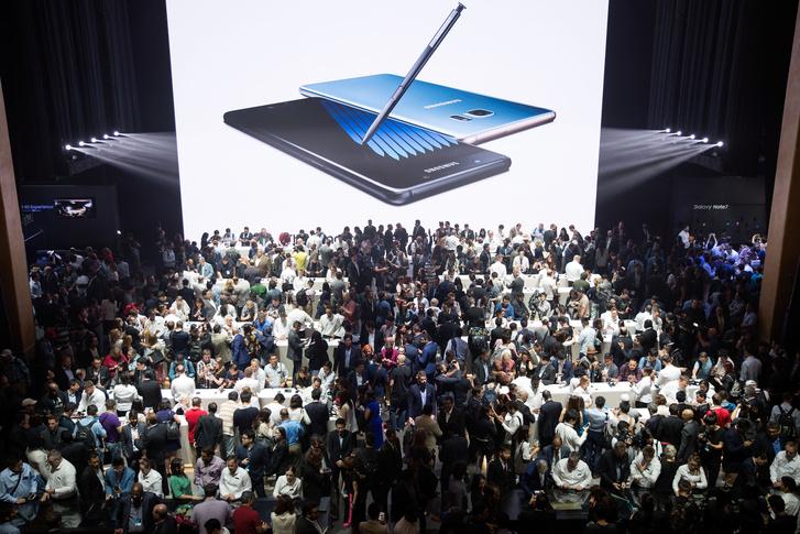 A Galaxy Note 7 augusztusi bemutatója