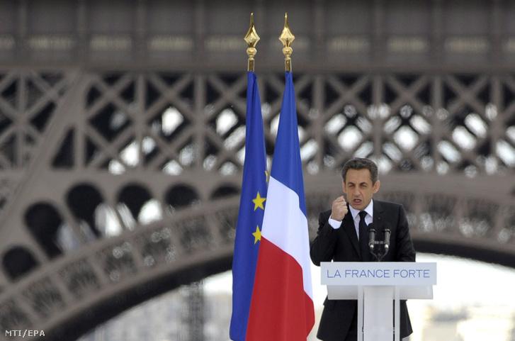 Nicolas Sarkozy volt francia államfő