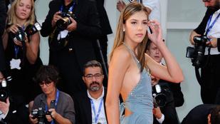 Stallone 18 éves lánya is végiglejtett a Velencei filmfesztivál szőnyegén