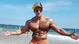 Ezt az ázsiai testépítőt Arnold Schwarzeneggerhez hasonlítják