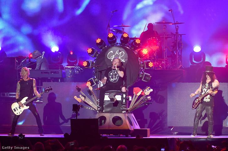 Az eredeti Guns 'n Roses 2016-ban a Coachella fesztiválon.