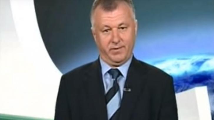 Szaniszló Ferenc az Echo Tv ismert műsorvezetője