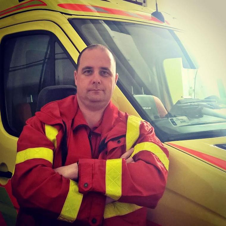 Kárcis György mentős és kollégája végezték az újraélesztést