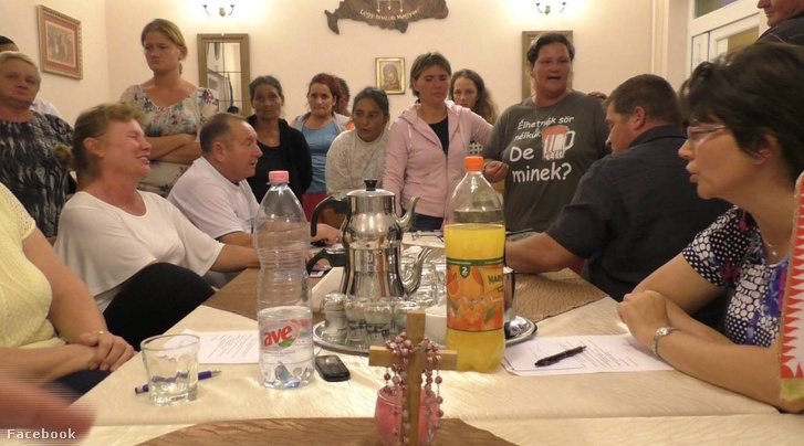 A keddi, érpataki kerületi-testületi ülésen készült felvétel