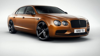 Szuper-szedánt mutat be a Bentley