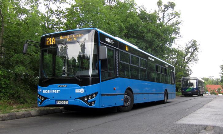 Mabi-Bus a BKK járatán