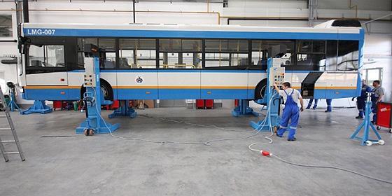 ITK busz Debrecenben