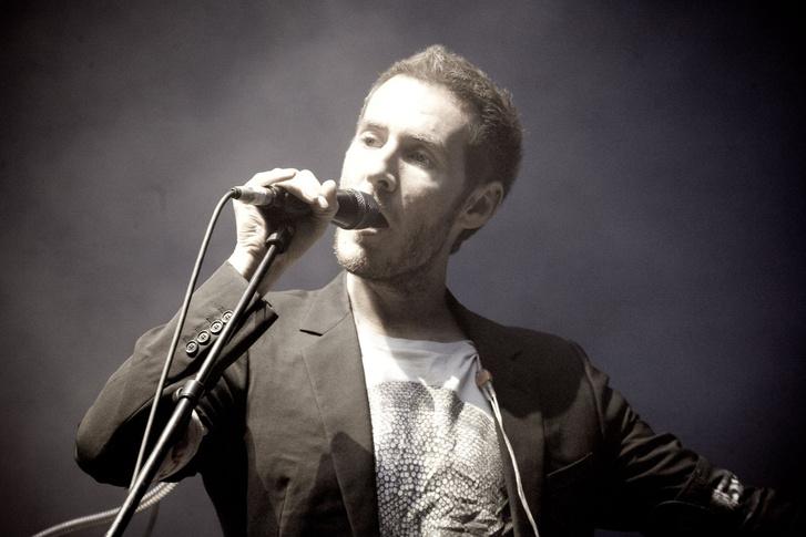 Robert del Naja, Massive Attack, 2010
