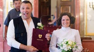 Star Wars esküvőt tartottak Budapesten
